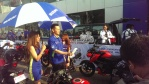 Itayama San Lepas Rombongan Turing Suzuki GSXS150 Jelajah Pulau Jawa Dari SunterJakut