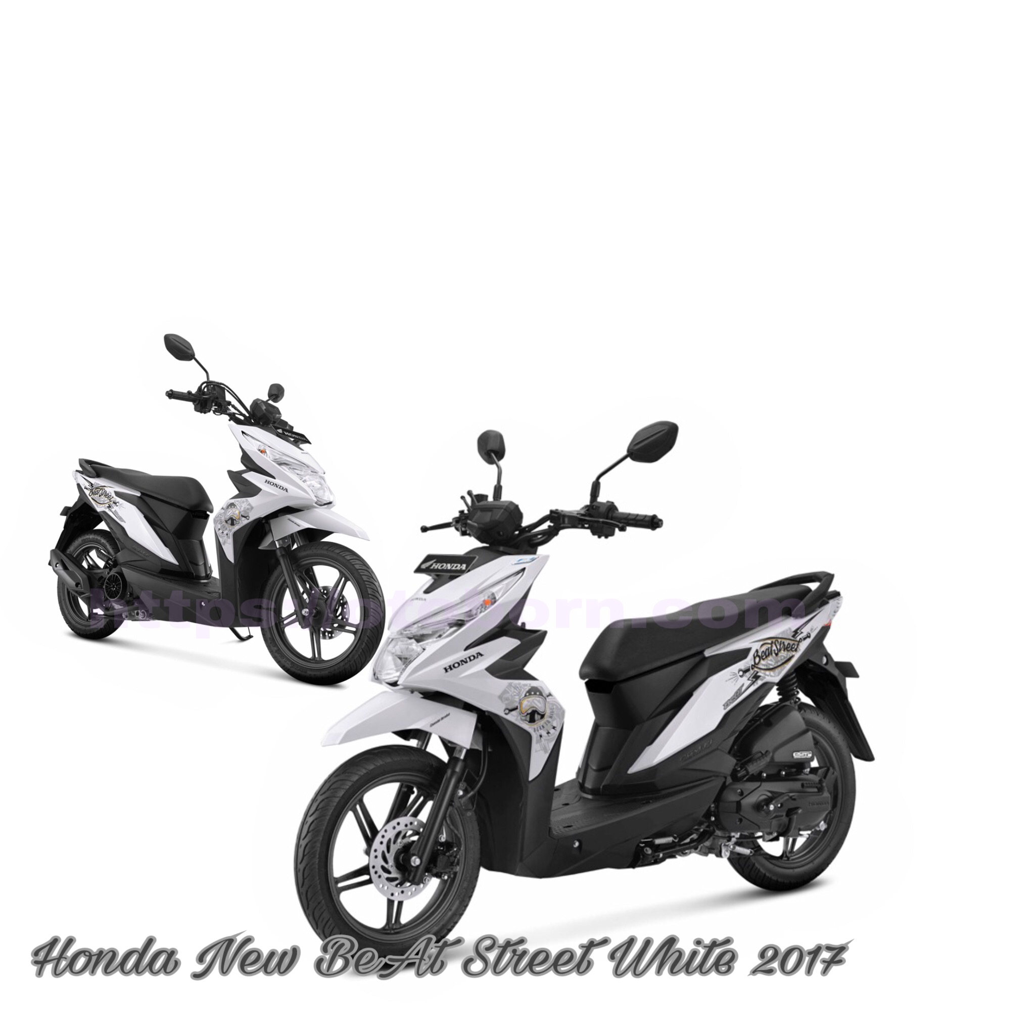 106 Modifikasi Motor Beat Putih 2017 Modifikasi Motor Beat Terbaru