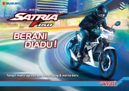 all new satria f150 2017 flyer a4 front