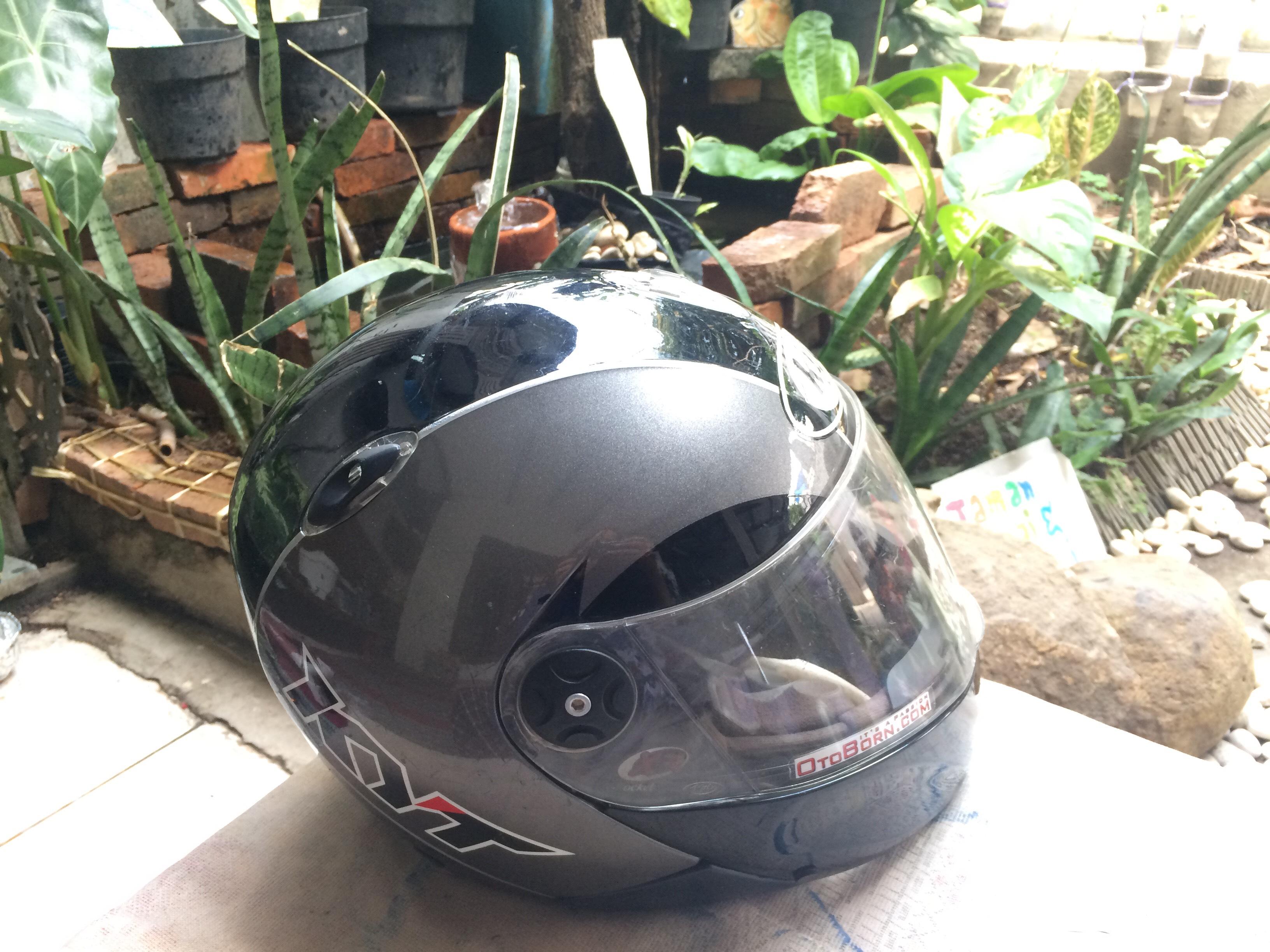 Review Pemakaian Helm KYT X Rocket 25 Tahun